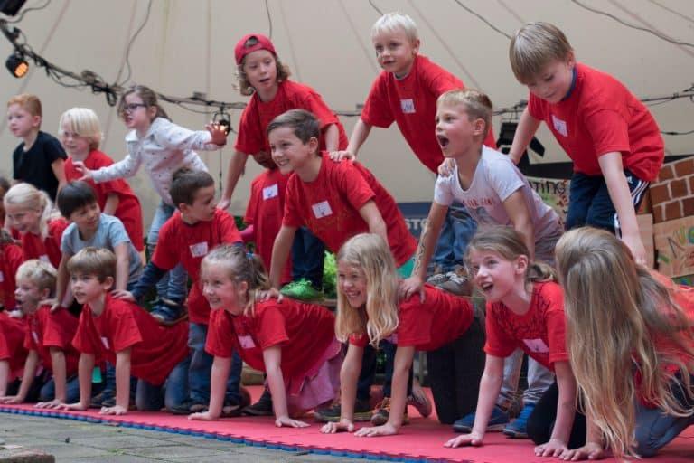 Workshop Acrobatiek voor de basisschool