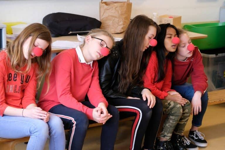 Basisschool workshop Clownerie