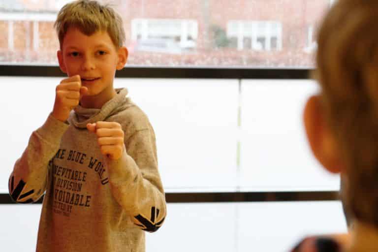 Basisschool workshop Stage Fighting