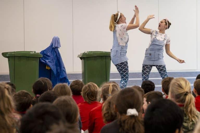 Basisschool schoolvoorstelling De Zee is van Plastic!