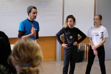 Het team van Theatermakerij STORM